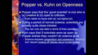 Kuhn on Scientific Revolutions (Lecture 7, part 2 of 2)