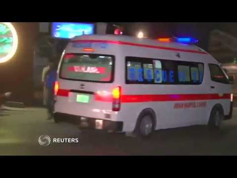 Video: Suicide blast targeting police claims lives in Pakistan