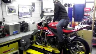7. Probikes Yamaha YZF-R6 2010 125HP (before YEC adjustment)