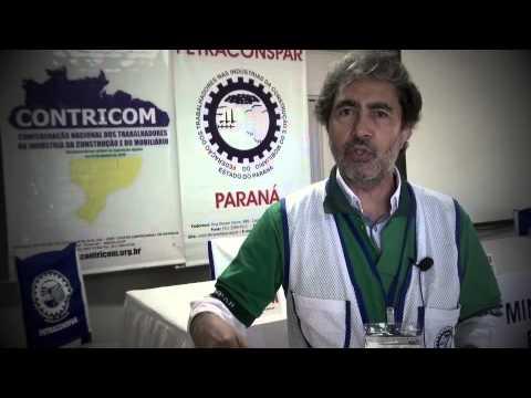 Presidente da Fetraconspar, Geraldo Ramthun, explica sobre o 24� Semin�rio
