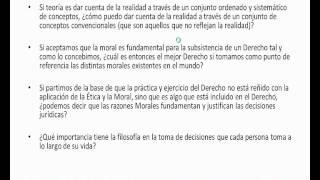 Umh1443 2013-14 Lec001 La Naturaleza De La Filosofia Del Derecho. Preguntas Estudiantes