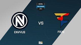 EnVyUs vs FaZe, game 1