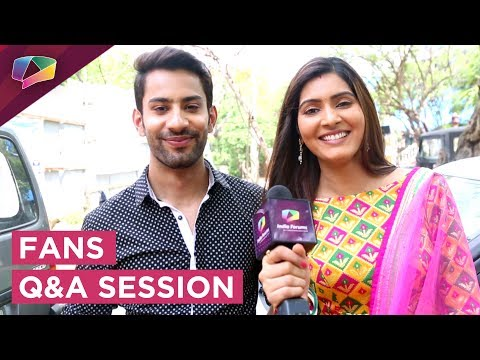 Saahil Uppal And Sangeita Chauhan Answer Fan Quest