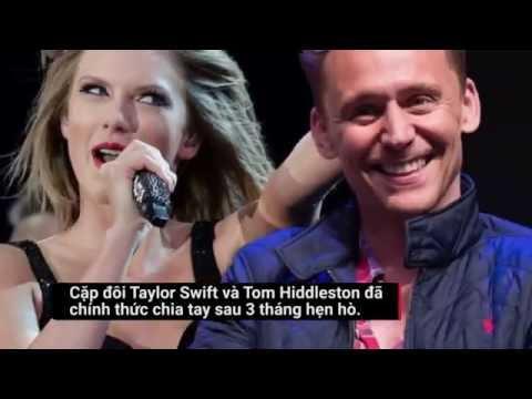 Taylor Swift và Tom Hiddleston chính thức chia tay sau 3 tháng hẹn hò - Thời lượng: 56 giây.