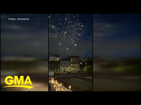 At-home fireworks use on the rise l GMA