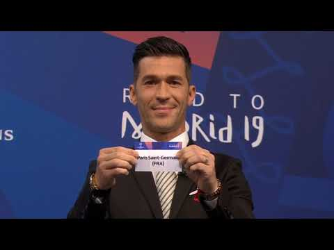 UEFA Champions League 2018/2019 - Round of 16 DRAW