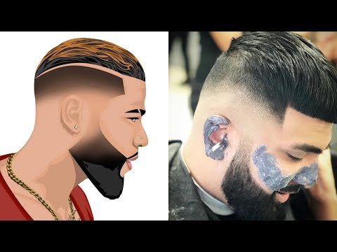 Attractive Beard Styles For Men's ! Amazing Barbering Compilations!!!