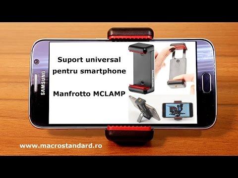Suport universal pentru smartphone Manfrotto MCLAMP