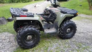 3. 2005 Polaris Sportsman 500 HO, engine noise