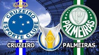 CRUZEIRO X PALMEIRAS (PARCIAIS DO CARTOLA + NARRAÇÃO)  - CAMPEONATO BRASILEIRO 2017