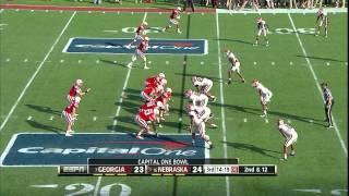 Damian Swann vs Nebraska (2012 Bowl)
