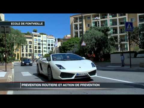 Monaco : prvention routire chez les plus jeunes