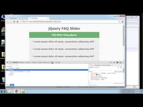 Learn How to Create a jQuery Accordion Slider - Part 4