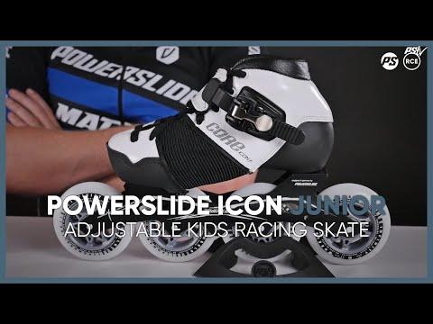 Powerslide Icon Junior - adjustable kids racing skate