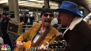 Nonton U2 Busks In Nyc Subway In Disguise Film Subtitle Indonesia Streaming Movie Download