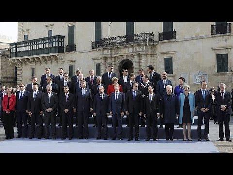 Μάλτα: Σε σχέδιο 9 σημείων για τη μετανάστευση προχωρούν οι Ευρωπαίοι ηγέτες