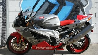 6. 2008 Aprilia Mille RSV 1000 R Motorcycle For Sale...0NLY 2763 miles!!