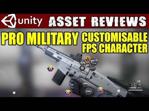 Unity Asset Reviews - Pro Military Customizable FPS Character