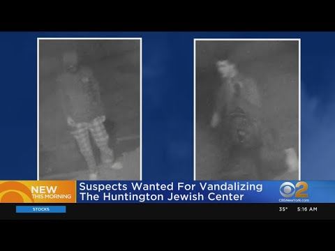 Suspects Wanted In Jewish Center Vandalism