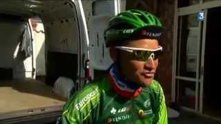 Video Reportage sur les ambitions de Thomas Voeckler et du Team Europcar sur le circuit de la Sarthe 2014 MP3, 3GP, MP4, WEBM, AVI, FLV Juni 2017