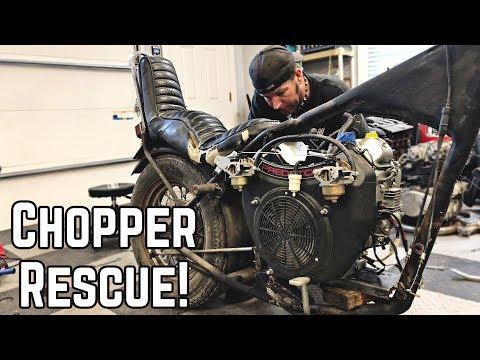 670cc Auto Chopper Build! Honda Davidson Rescue Pt. 1 - Thời lượng: 14 phút.