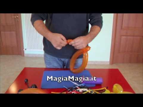 cappelli - http://magiamagia.it videolezione su come fare i cappelli e le cinture con i palloncini 260 magia,giochi di magia.