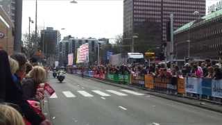 Marathon Rotterdam 2013: 1st Woman Jemima Jelagat, Abebech Afework And Dare 200m Before The Finish