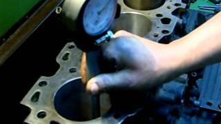 Rectificación De  Cilindros De Motor Diesel EN EL ISTP ANTENOR ORREGO CHORRILLOS