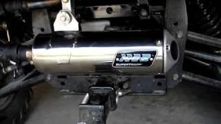 9. KYMCO UXV 500 with SuperTrapp Mudslinger 2