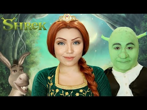 Shrek Princess Fiona Makeup Tutorial