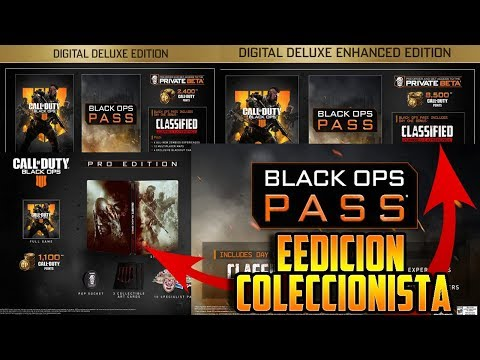 CONTENIDO y PRECIO de TODAS las EDICIONES ESPECIALES de Call Of Duty: Black Ops 4 (видео)