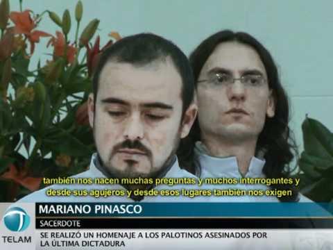 Se realizó un homenaje a los palotinos asesinados por la última dictadura