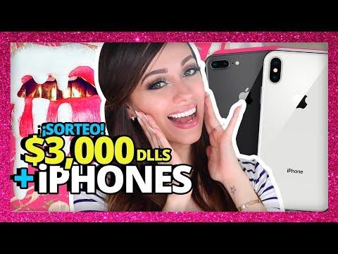 SORTEO: iPHONES Y MILES DE DÓLARES EN MAQUILLAJE TE REGALO ESTA NAVIDAD!
