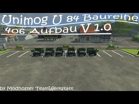 Unimog 84 406 series construction v2.1 MR Forst