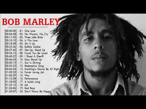 Bob Marley Greatest Hits Reggae Songs 2018 - Bob Marley Full Playlist