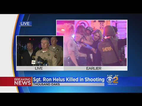 Ventura County Sheriff's Sergeant, 11 Others Killed In Shooting At Borderline Bar