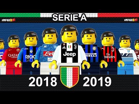 Serie A 2018/19 Sintesi e Goal campionato 2019 in LEGO Calcio • LEGO Football Film Goals Highlights