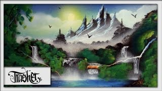 Download Lagu Spray Paint Art - Landscape by: TRASHER Mp3