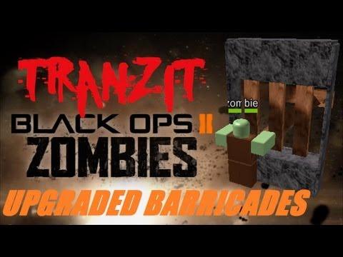 TranZit Zombies: NEW Permanent Perk - Upgraded Barricades