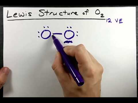 Lewis Structure of O2