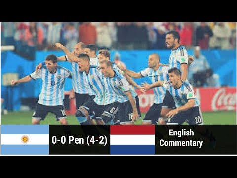 Argentina vs Netherlands 2014 ● World Cup Semi Final ● Full Highlights HD