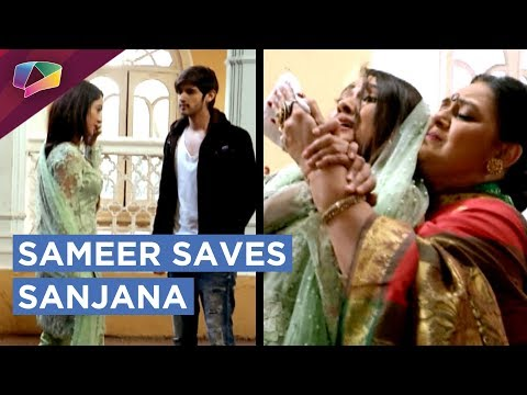 Sameer Saves Sanjana | Gets Trapped And Accused |
