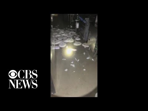 Video shows Southern California earthquake impact in restaurant