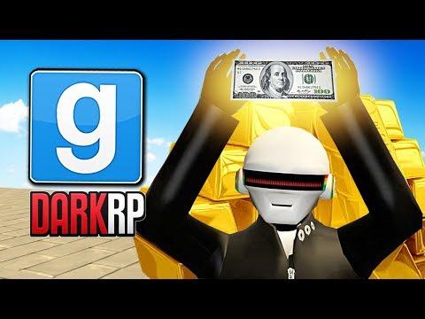 ENTIRE Server Races For $100 MILLION!? (Garry's Mod DarkRP) (видео)