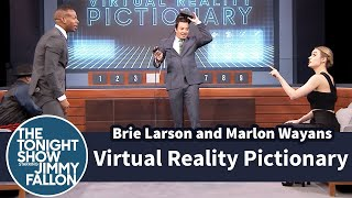 Video Virtual Reality Pictionary with Brie Larson and Marlon Wayans MP3, 3GP, MP4, WEBM, AVI, FLV Juni 2019