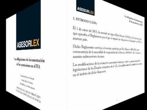 La obligación de documentación de las operaciones en el IVA