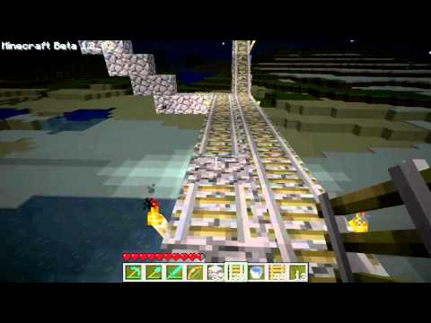 ★ Minecraft Gameplay - More Minecart Ttracks!