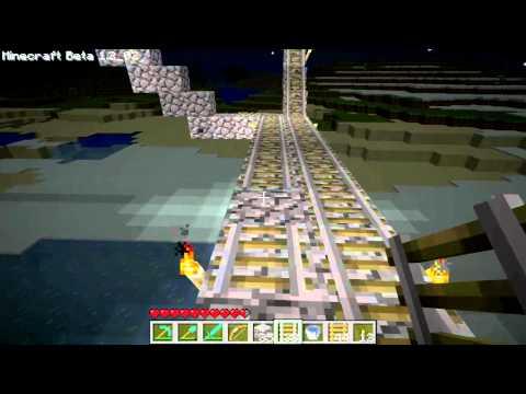 ★ Minecraft Gameplay - More Minecart Ttracks!