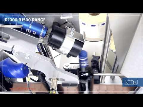 R1000-R1500 Range - automatic labeller