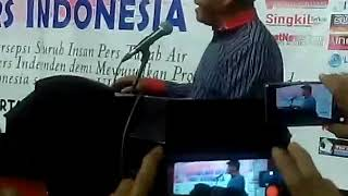 Video Teriak ganti presiden 2019 Egy Sudjana di usir saat Mubes pers Indonesia MP3, 3GP, MP4, WEBM, AVI, FLV Januari 2019